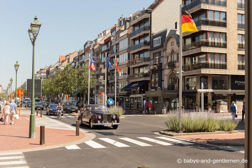 Knokke Shopping in den Einkaufsmeilen Kustlaan und Lipslaan