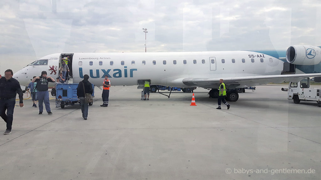 Mit Luxair von Saarbrücken nach Berlin-Tegel